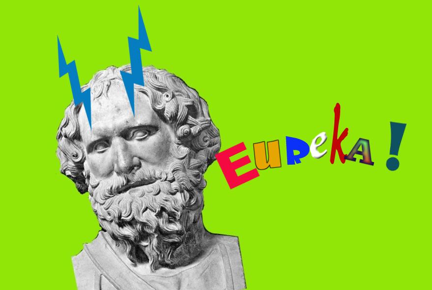 Eureka Aristoteles reclamestunt