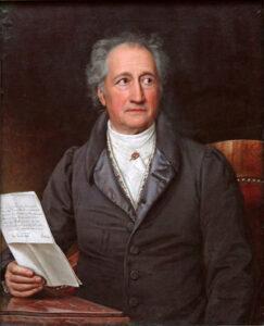 Goethe - technocratisering versus mens